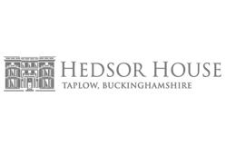Hedsor House Logo JustSeventy