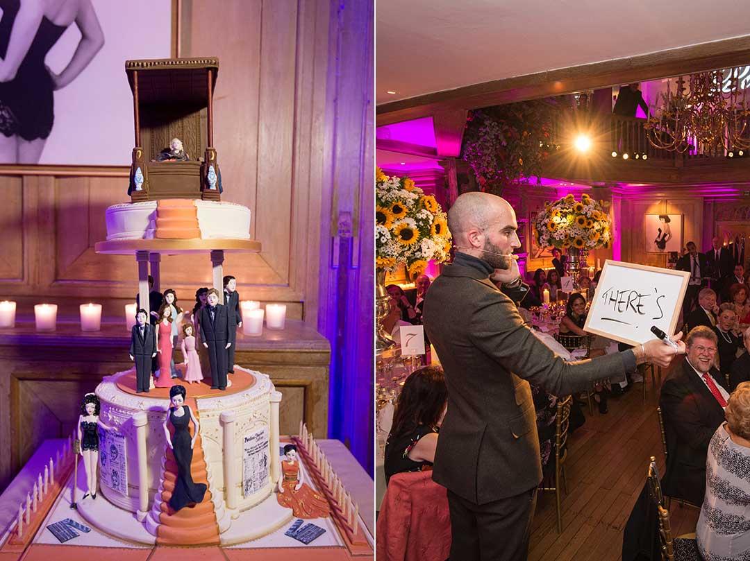 Birthday Party Mosimanns London Dinner Event Glamorous