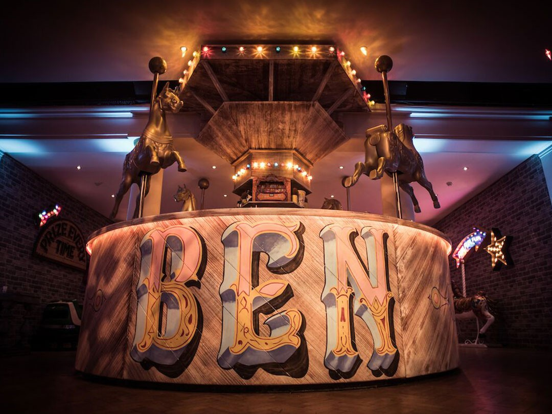 Luxury Creative Event Fairground Barmitzvah London JustSeventy