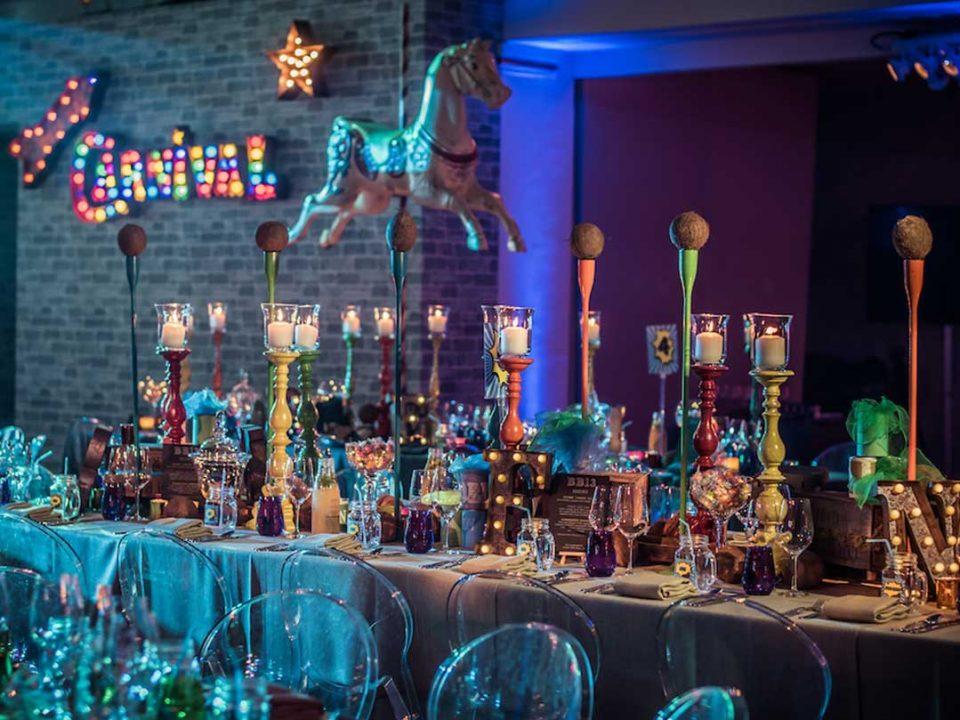 Luxury Creative Event Fairground Barmitzvah London JustSeventy