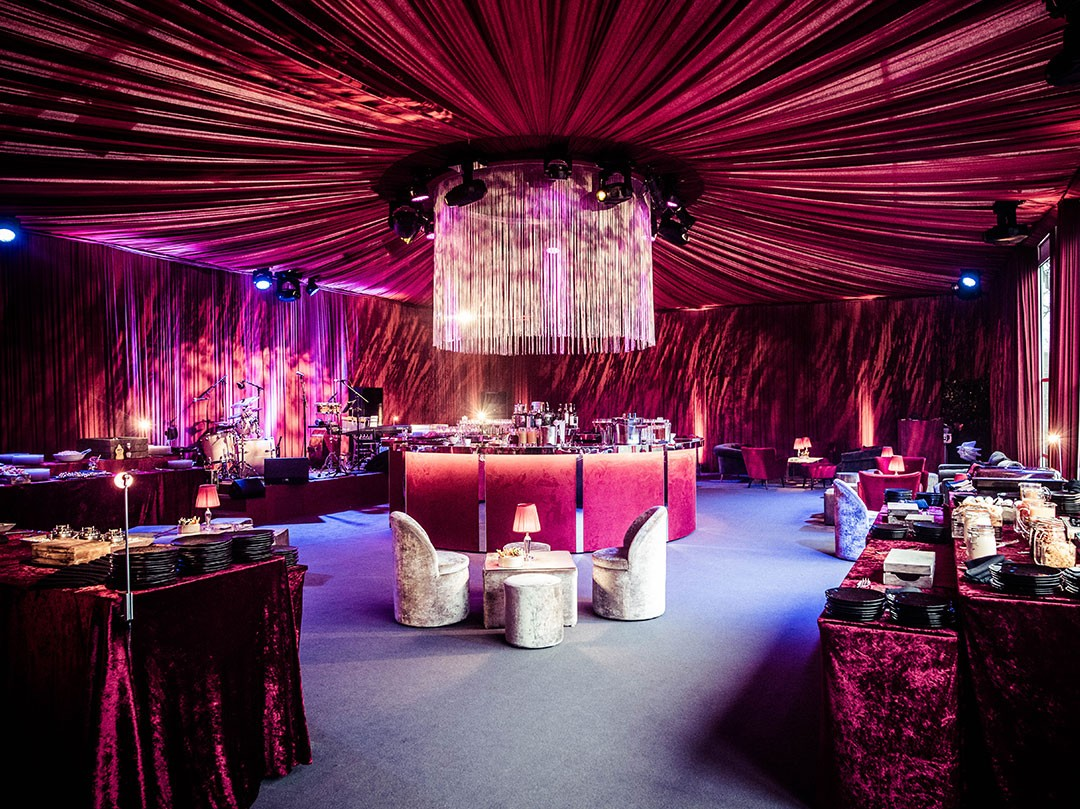 Bespoke Nightclub Birthday Party in Client Basement