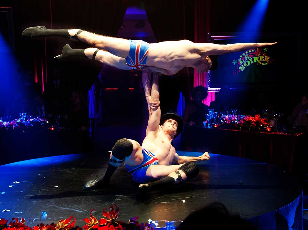 Claridge's Barmitzvah Circus Party Event Luxury JustSeventy