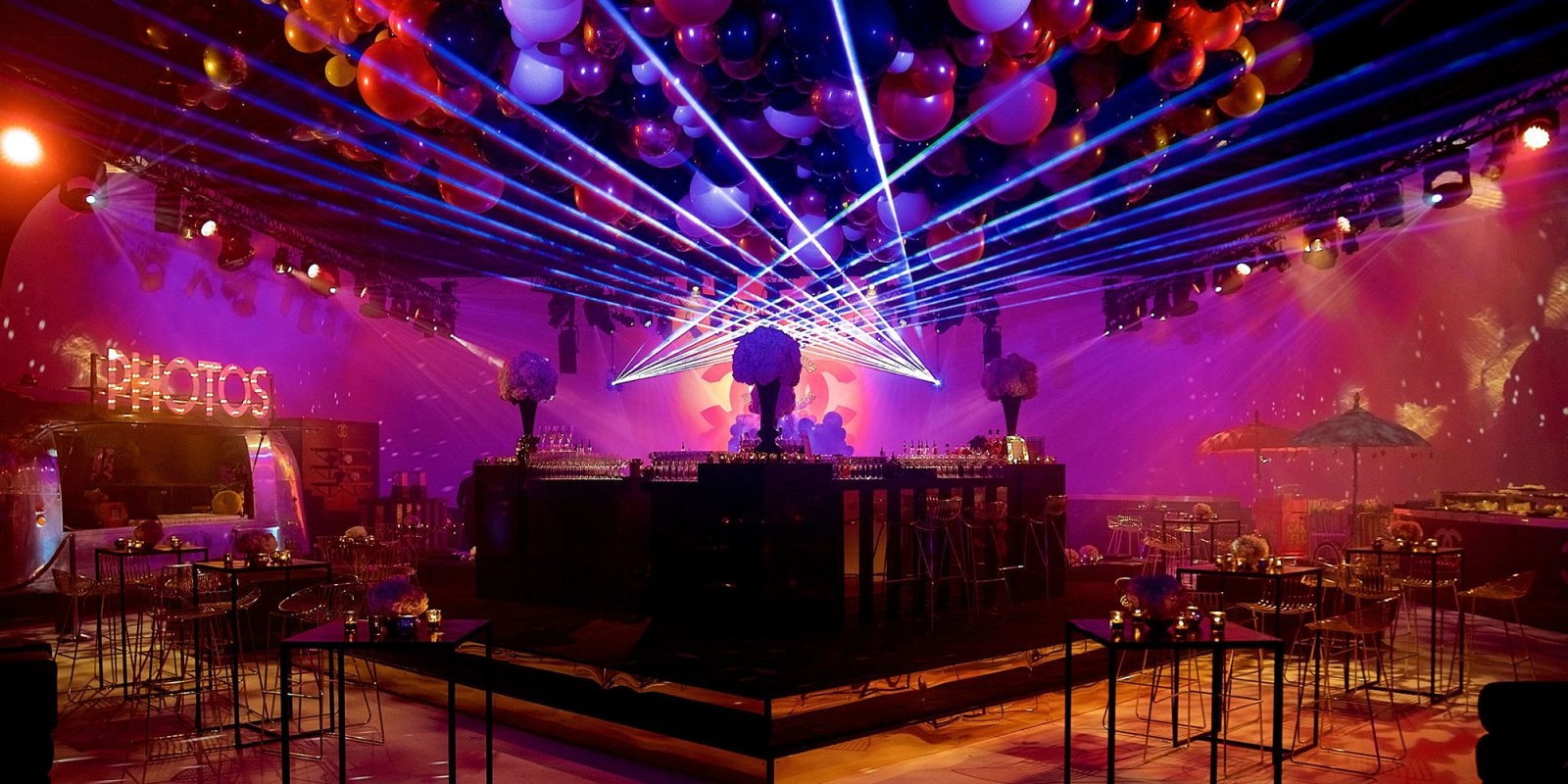 Park Royal Studios Ibiza Nightclub Bat Mitzvah Transformation