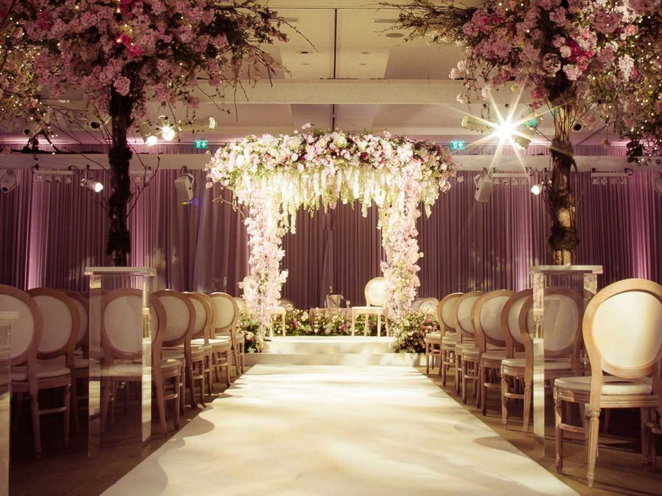 Luxury Floral Jewish Wedding at The Grove Hotel
