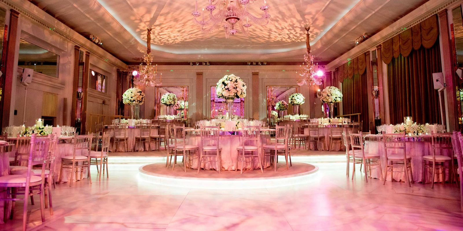 Claridges Hotel Kazakh British London wedding