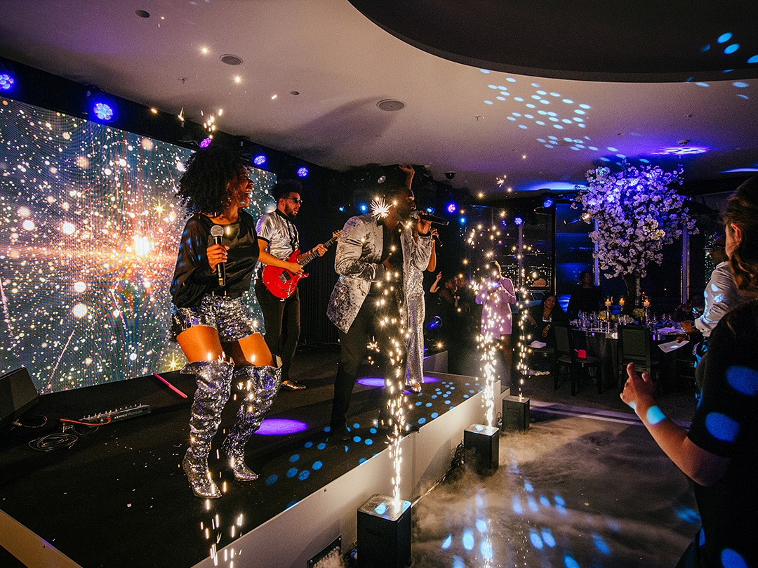 Surprise 50th Birthday Party in Bulgari Hotel