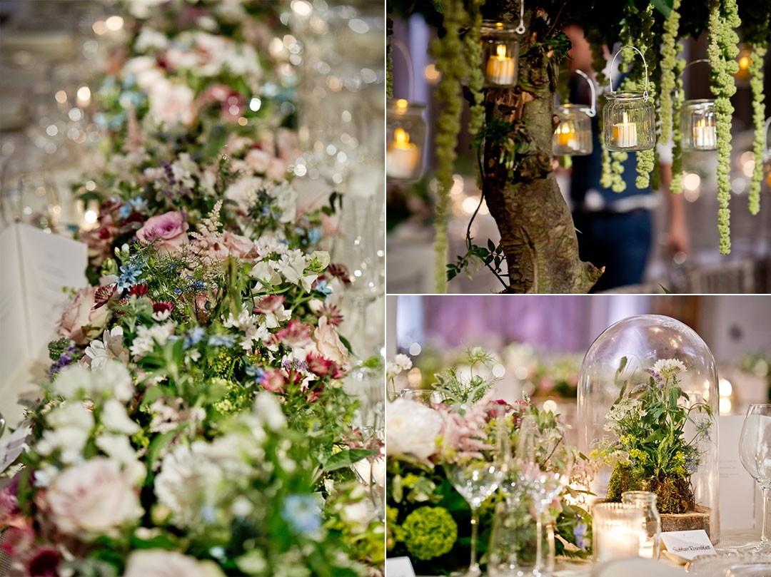 Woodland Inspired Wedding at Claridges Hote
