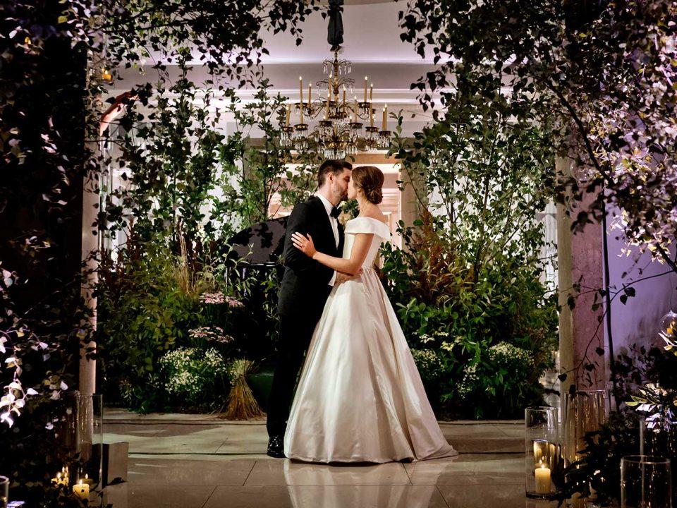 Woodland Inspired Wedding at Claridges Hote