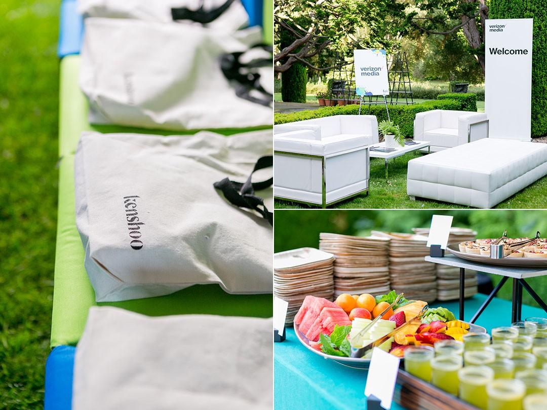 New York San Francisco Botanical Gardens Corporate Event