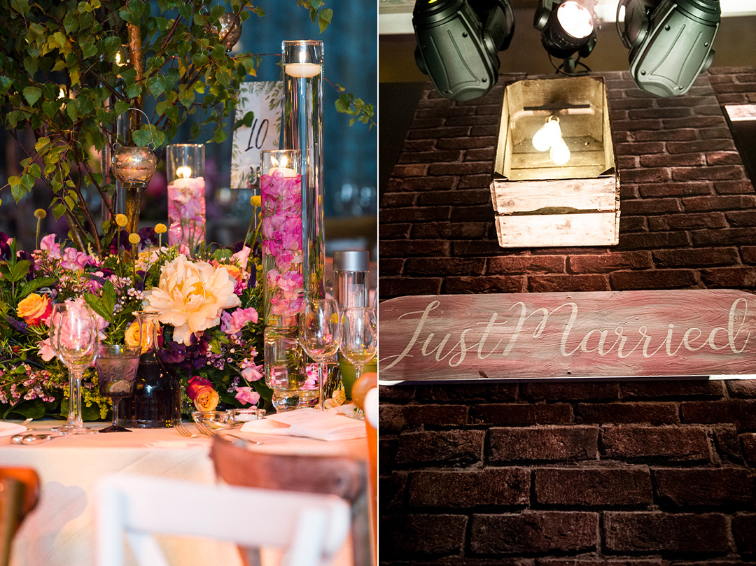 The Dorchester Hipster Floral Wedding by JustSeventy