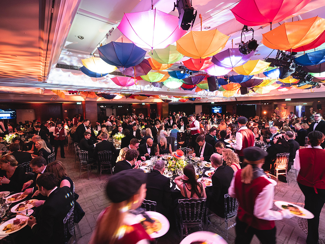 Intercontinental Park Lane Mary Poppins Themed Corporate Awards