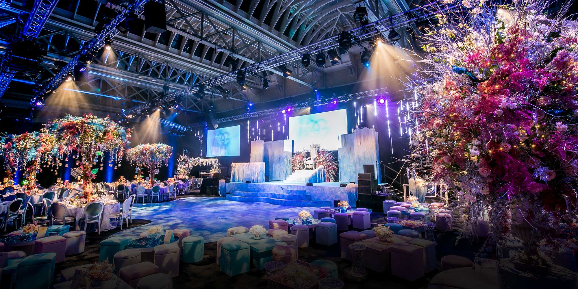 Old Billingsgate Ice Palace Themed Bat Mitzvah