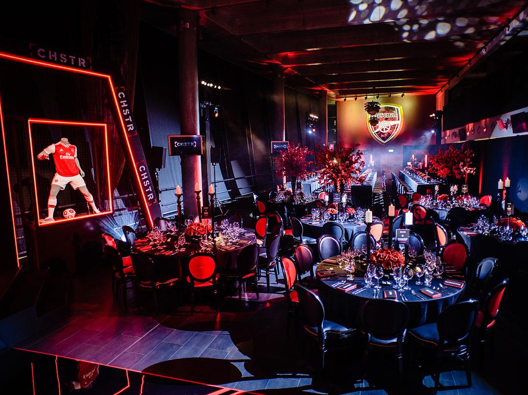 Arsenal Football Themed Bar Mitzvah in Emirates Stadium